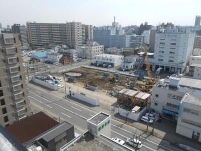 3月28日の建設工事状況