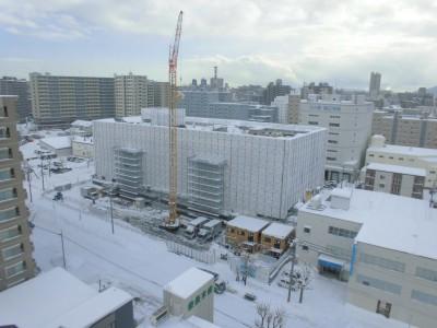 写真① 12月16日の建設現場の状況
