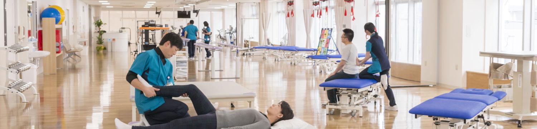 143床のリハビリテーション専門病院