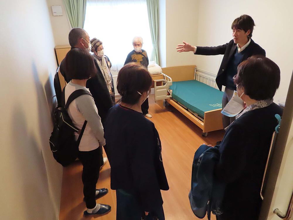 介護施設見学ツアーの写真4