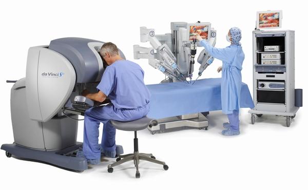 手術用ロボット「ダビンチS」
